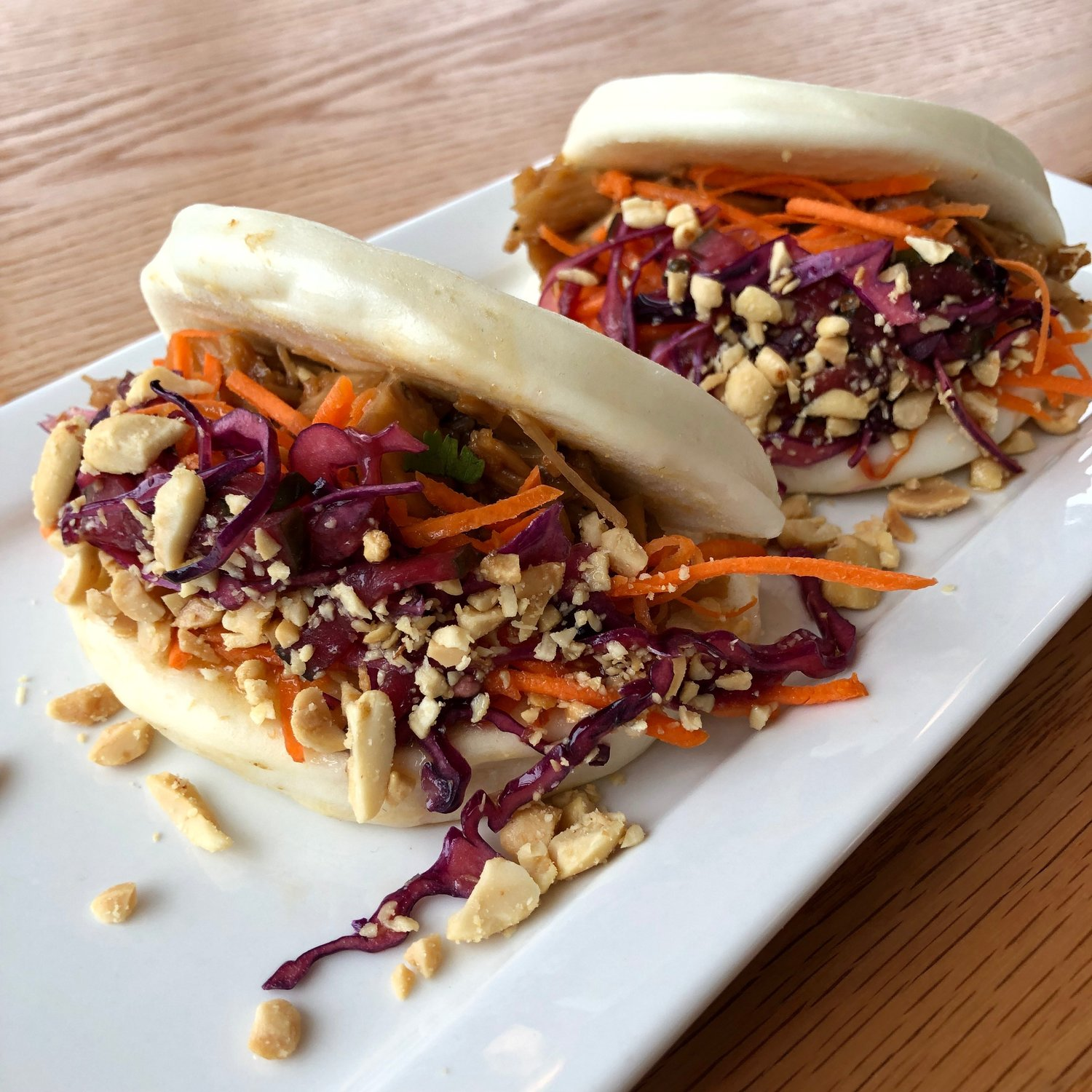 Korean BBQ Jackfruit Bao