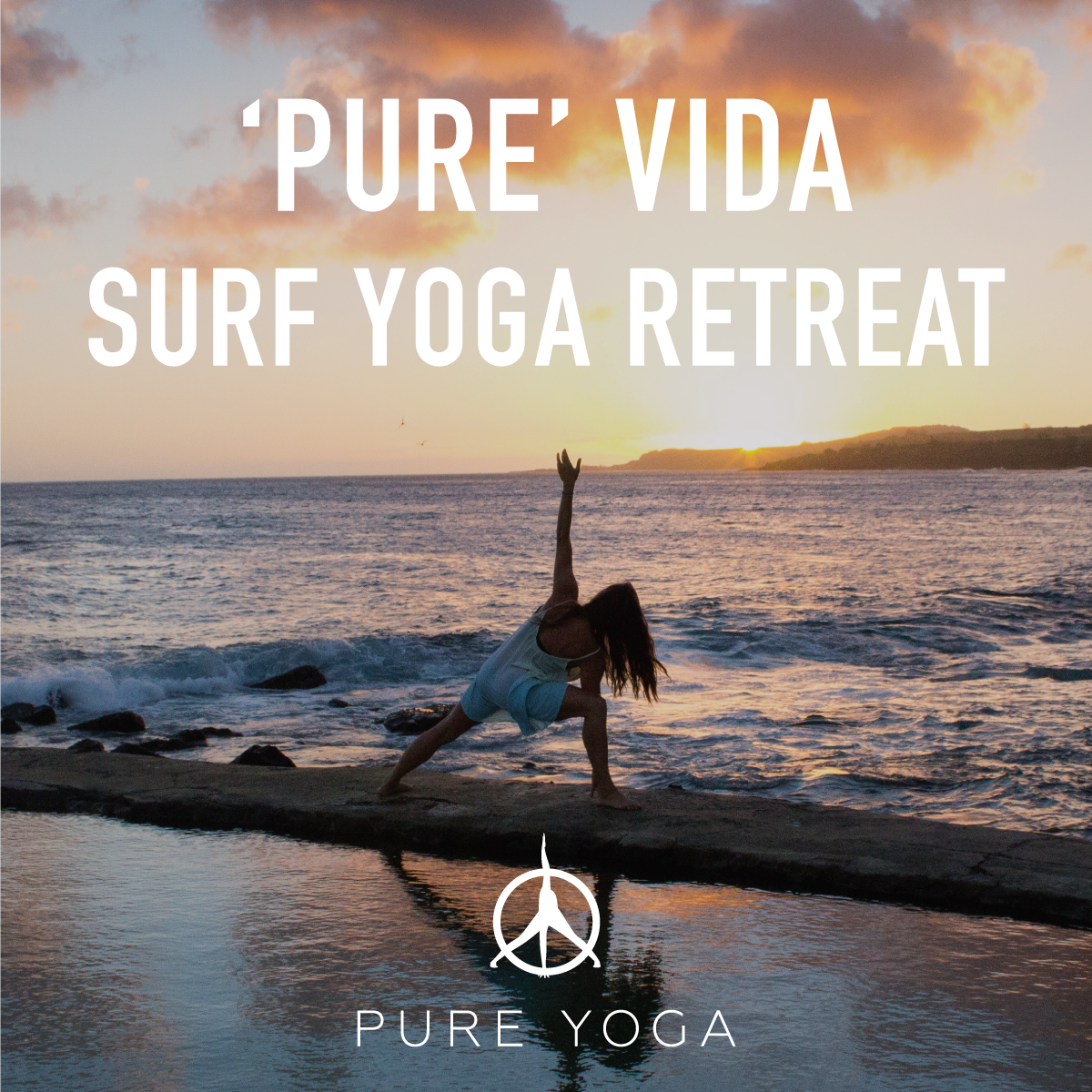 Surf yoga retreat square