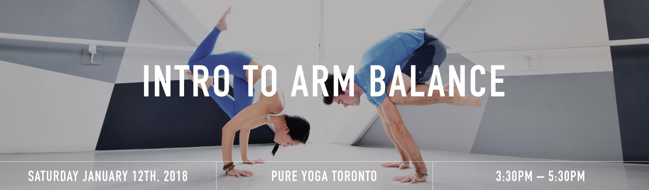 Intro to arm balances banner