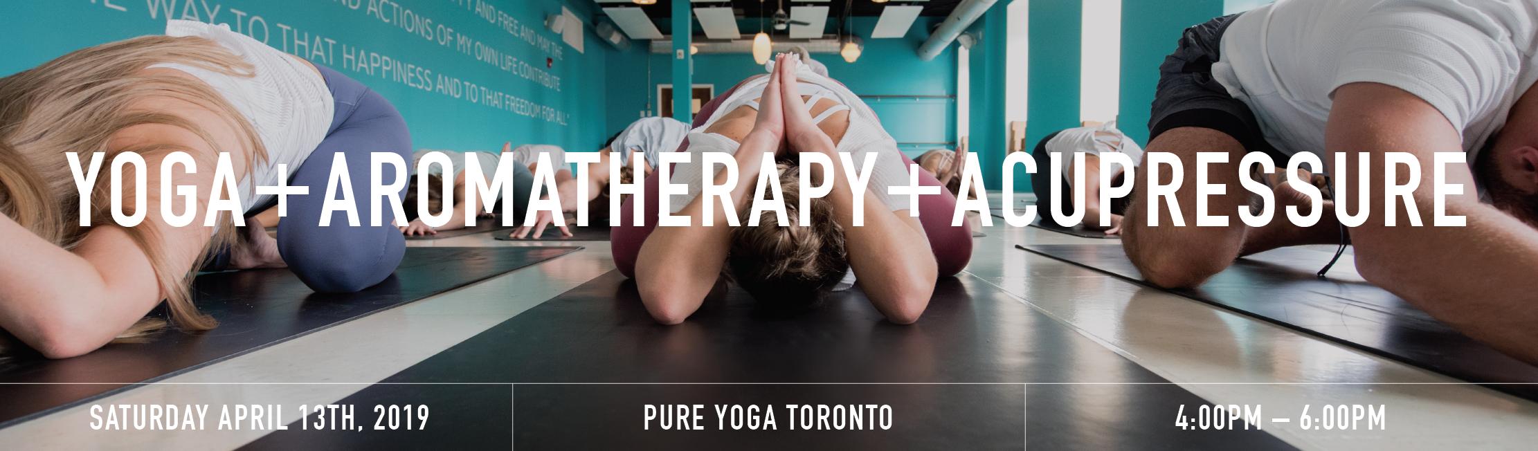 Yoga aromatherapy acupressure banner  1