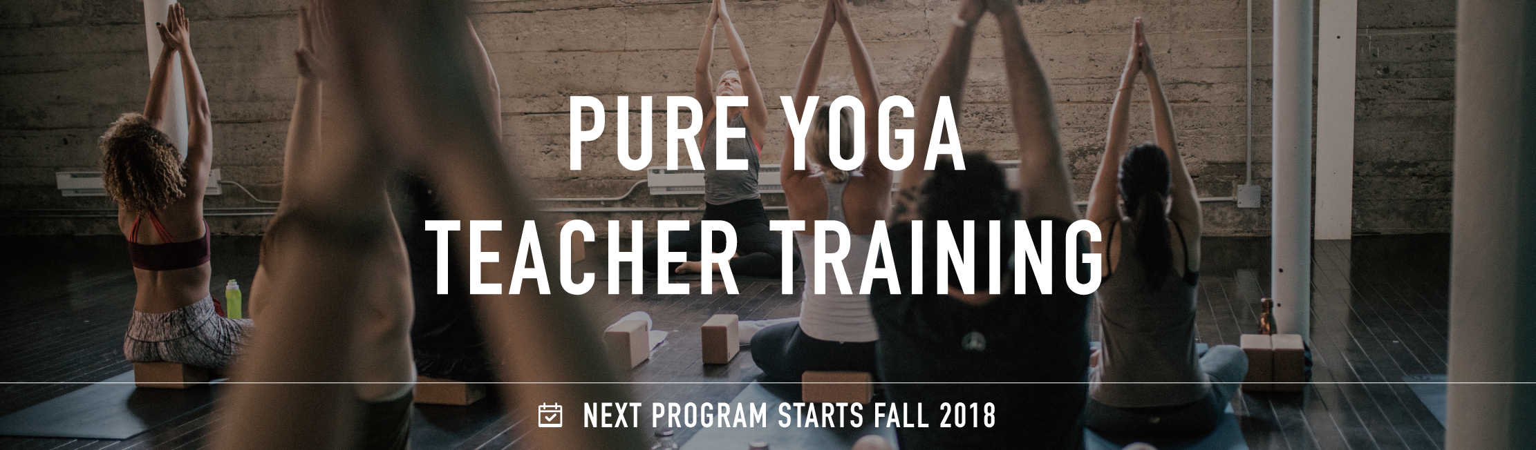 Pure yoga teacher training banner  3