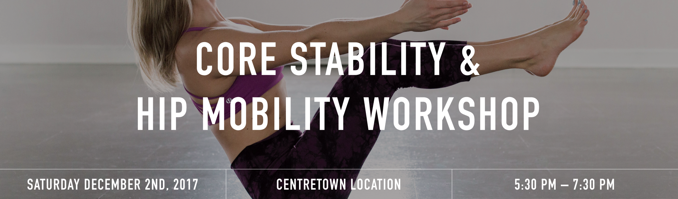 Core stability banner  1