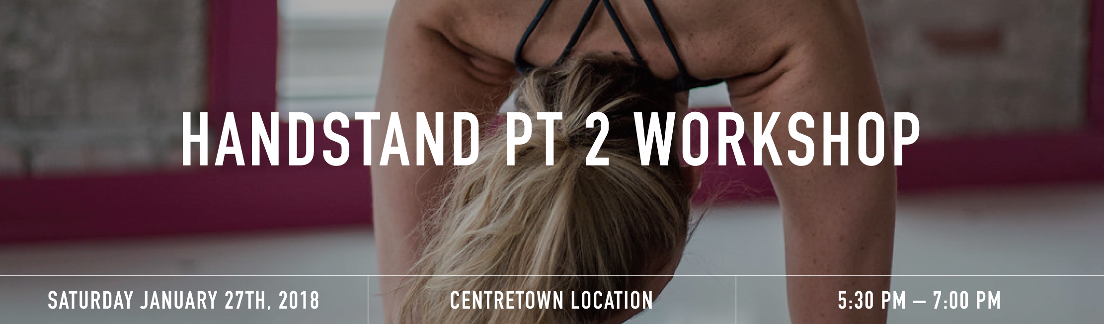 Handstand pt2 workshop banner
