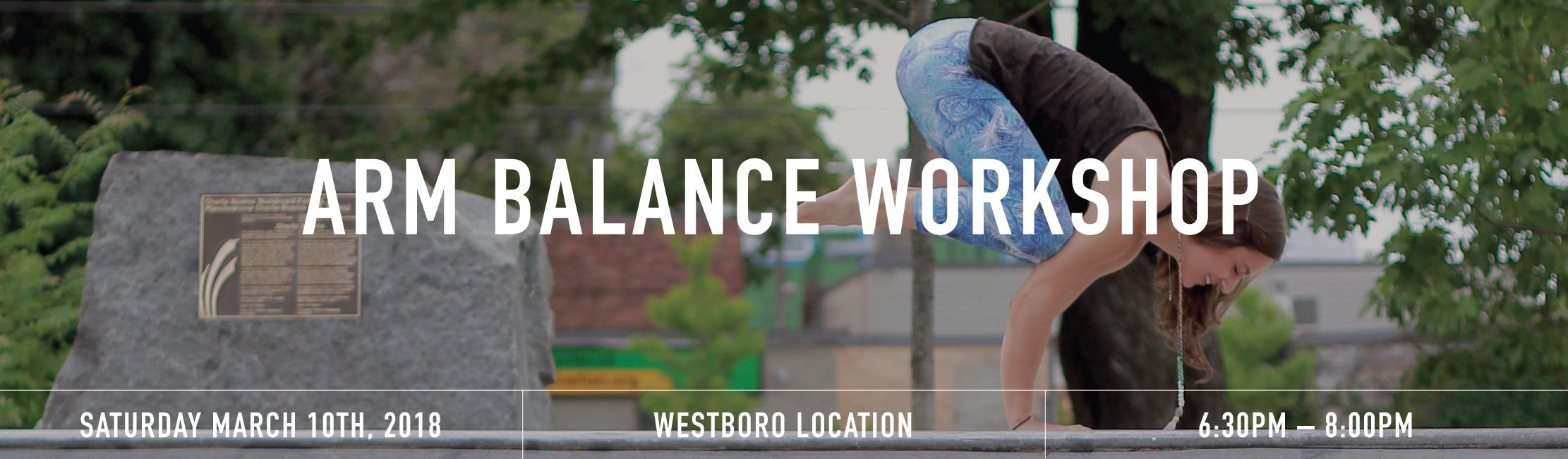 Balances workshop banner