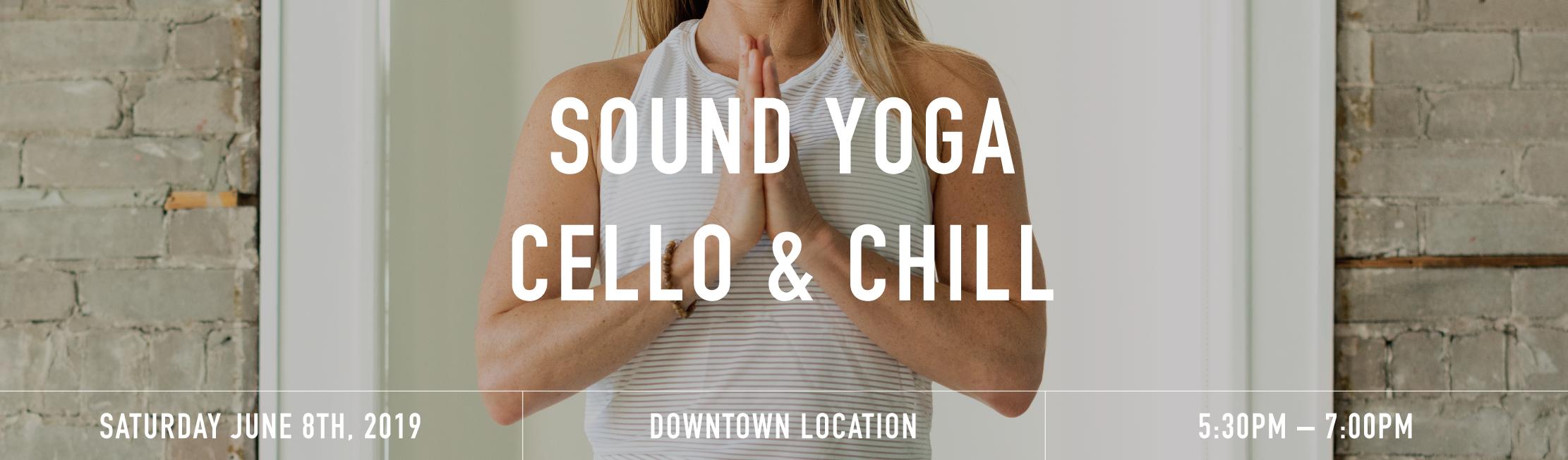 Sound yoga banner