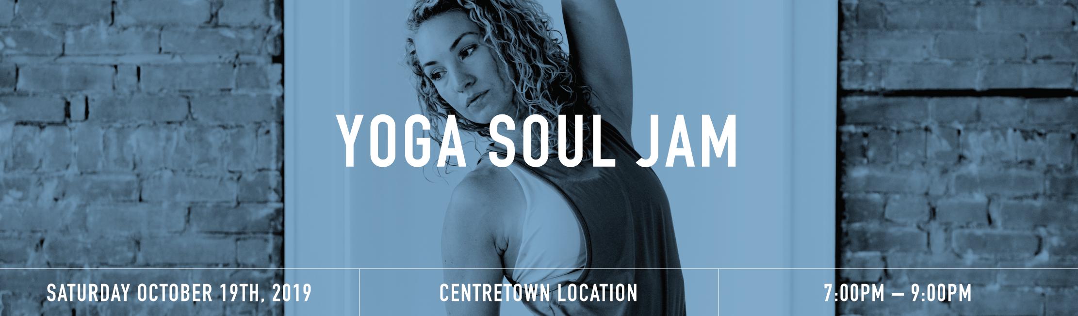 Yoga jam banner