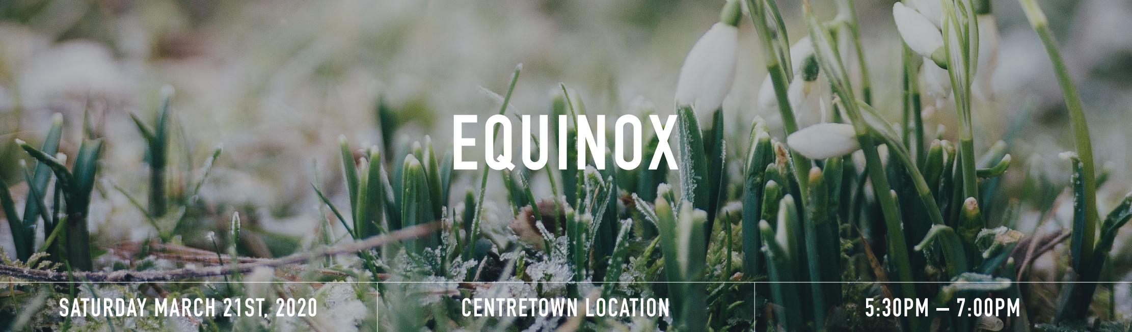 Equinox banner